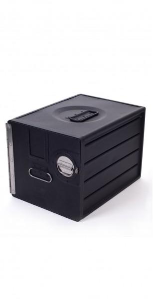 קופסת אחסון מטוס ממוחזר airbox 1201R black